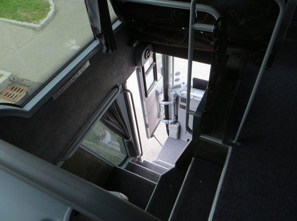 Double Decker Bus stairs