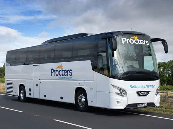 Luxury Coach Hire